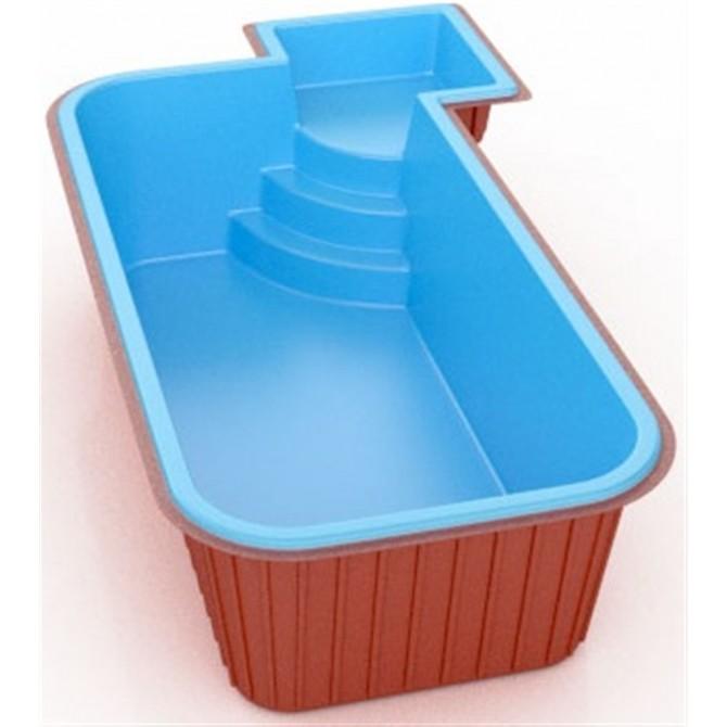 Piscina de fibra linha praia veneza loja for Fibra para piscina